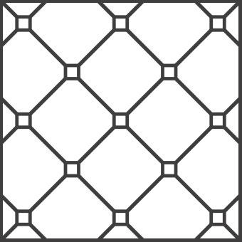 Solnhofener Formate - Quadrate Eckstein