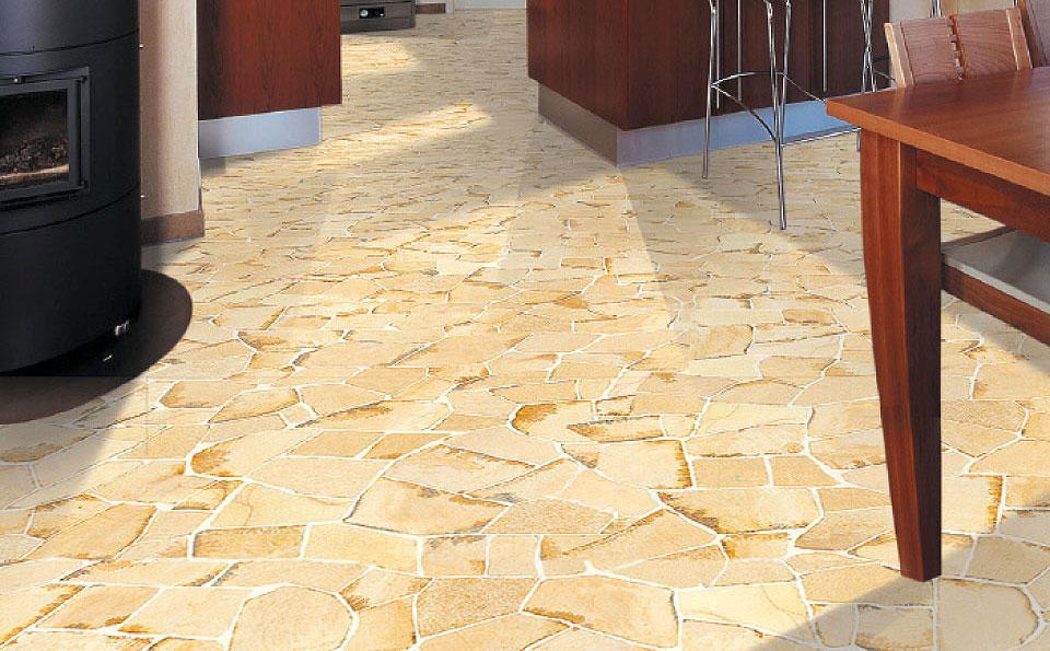 Polygonalplatten | Oberfläche bruchrau