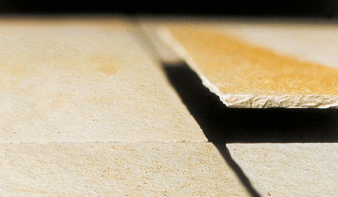 Solnhofener Platten Oberfläche bruchrau, 7mm Fliese